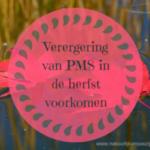 Verergering van PMS in de herfst voorkomen